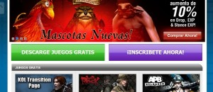GamersFirst portal juegos online
