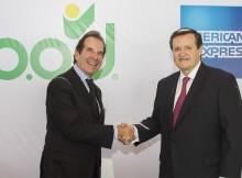 Víctor Vargas Irausquín, Presidente del B.O.D, y José María Zas, Presidente y Director General de American Express para México, Brasil, Latinoamérica y el Caribe