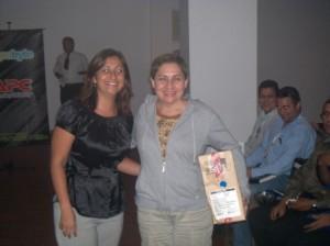 Entrega a la Ganadora de Premio Lenovo Thinkpad
