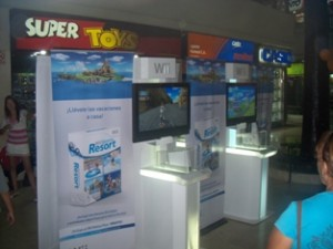 Exhibición de Wii en Super Toys
