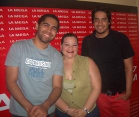 Caibo y nuestra Productora Ayenmarienmi Delgado