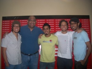 Mango Funk y Alberto Marín Morán