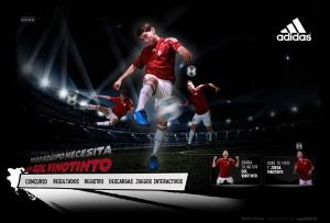 Equilibrio crea y desarrolla el sitio www.adidasvinotinto.com