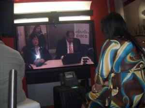 Cantv y Cisco mostraron Telepresencia en Maracaibo