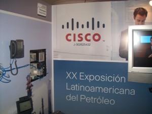 Cisco Presento Soluciones IP para la Industria Petrolera.