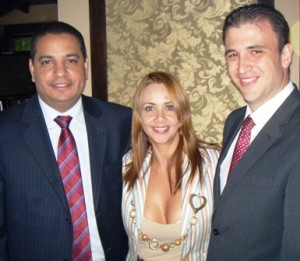 Ejecutivos de HP de Visita en Maracaibo