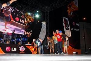 La gran final del LG BBoy Championship 2009 de Latinoamérica