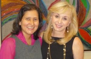 Scarlet Alvarez y Blanca Treviño