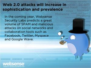 Websense Security Predictions for 2010