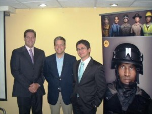 Gonzalo Torres, Rafael Fernandez Feo y Raiger Murillo
