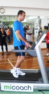 Dudamel entrenando en el VAAC con Mi Coach