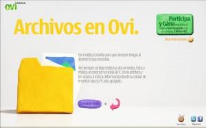 Campaña Moldea tu vida con Ovi 2
