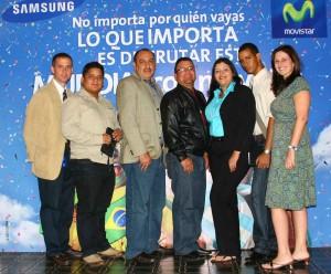 Ganadores Movistar y Samsung