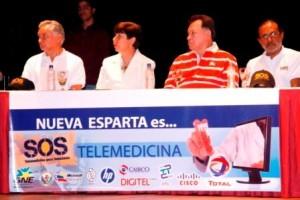 Personalidades de la UCV y del proyecto SOS Telemedicina