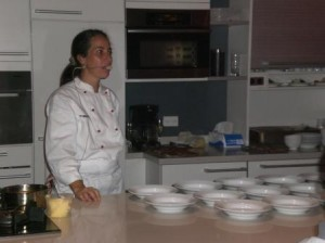 Ana Belén Myerston del restaurante Mokambo