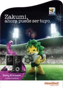 Campaña Zakumi