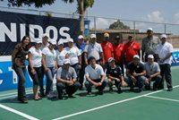 Marinelly Castillo, Voluntariado Generación DIRECTV, Juan Carlos Amaro VP DIRECTV, Representantes Alcaldía de Tubores