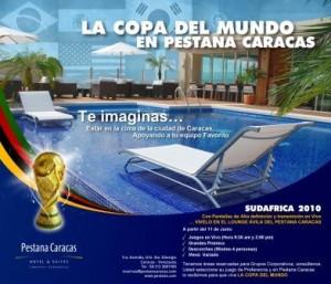 Vive la Copa del Mundo en Pestana