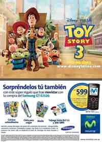 Toy Stoy 3 Movistar y Samsung Día del Niño
