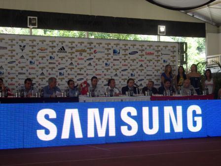 Samsung y Caracas Fútbol Club