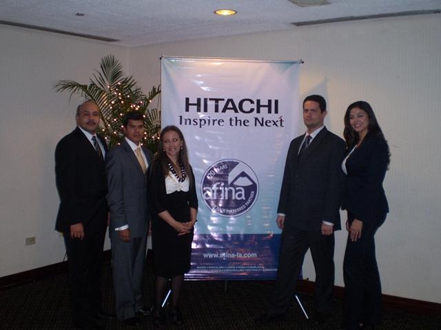 Hitachi y Afina