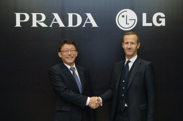 PRADA y LG