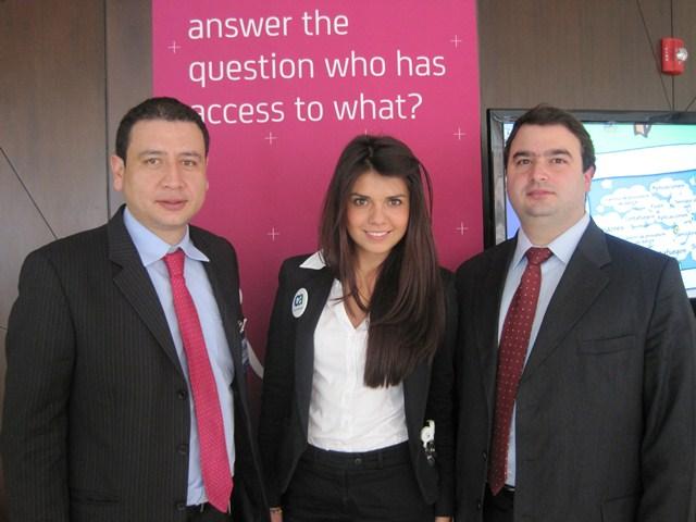 En la foto: Mauricio Vélez, gerente de Canales y Nicolás Martínez, Senior Consultant Technical Sales de CA Technologies