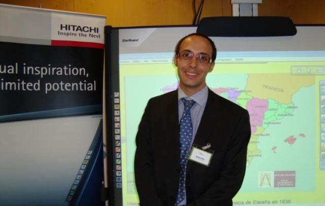 Gerard Usón, responsable del departamento de soluciones interactivas de Charmex Internacional