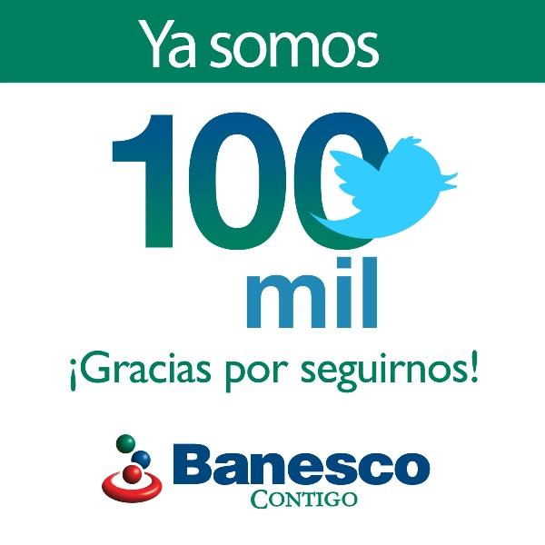 Banesco 100mil