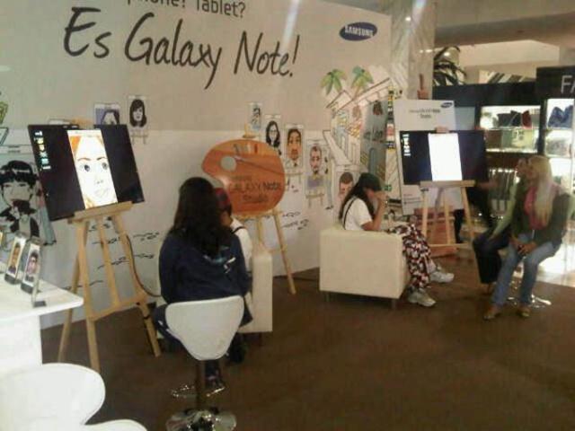 Galaxy Note Studio en el CCCT - Foto de Rafael Sabal @rafaelsabal