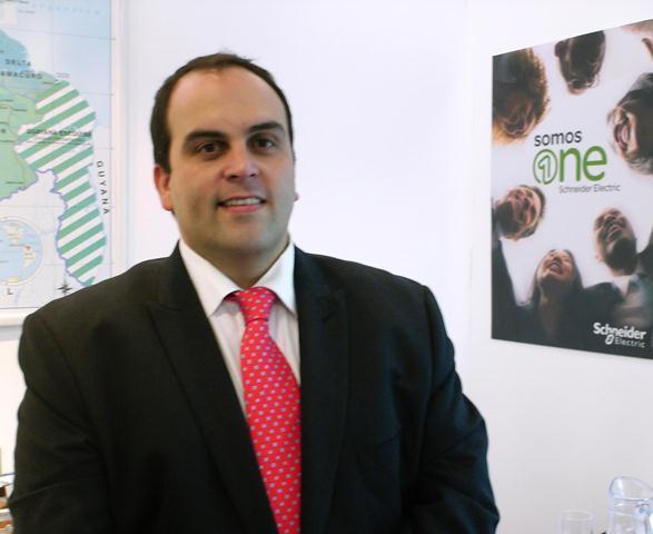 Javier Rodríguez Salazar, Presidente de Schneider Electric Venezuela