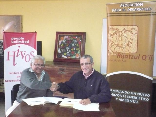Mario Hernández y José María Blanco