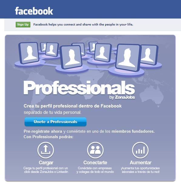 Professional Facebook