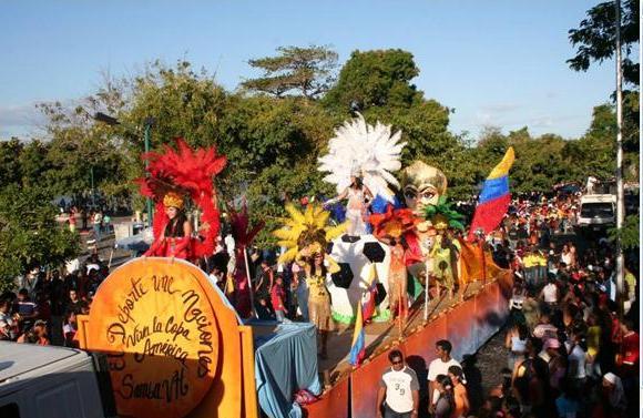 Carnavales Venezuela