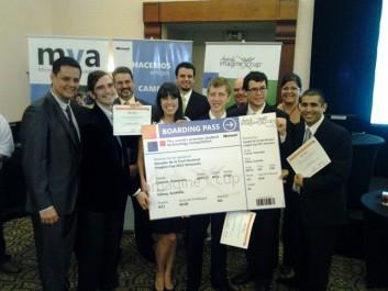 Equipo ganador de la Imagine Cup-UCAB