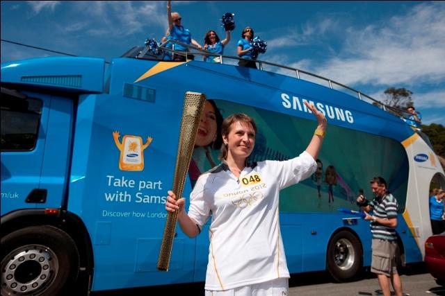 Samsung camino a las Olimpiadas