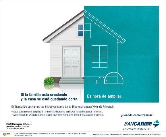 Bancaribe - Nueva Campaña - Versión Casa