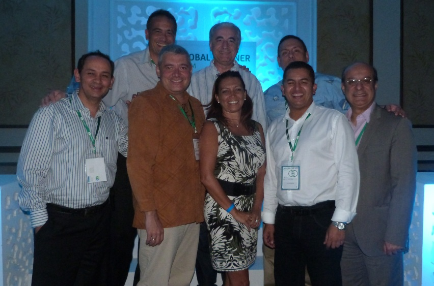 Blanca Aquino, CA junto a partners venezolanos
