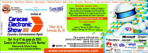 Caracas Electronic Show 2012