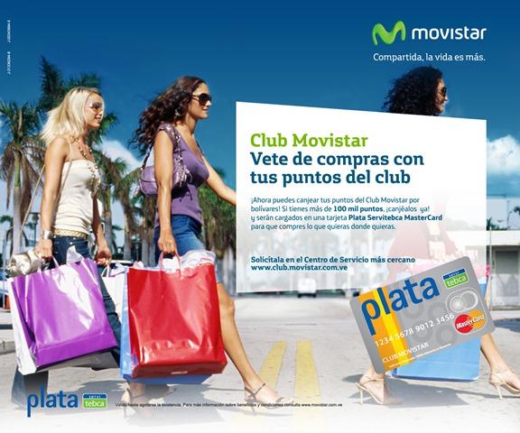 Club Movistar Tarjeta Plata Servitebca