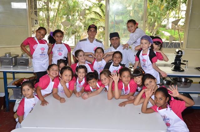 Inter Teen Model 2012 - Cocinando