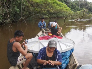 Pueblos aborígenes Yekuana y Sanemá incluidos a las telecomunicaciones