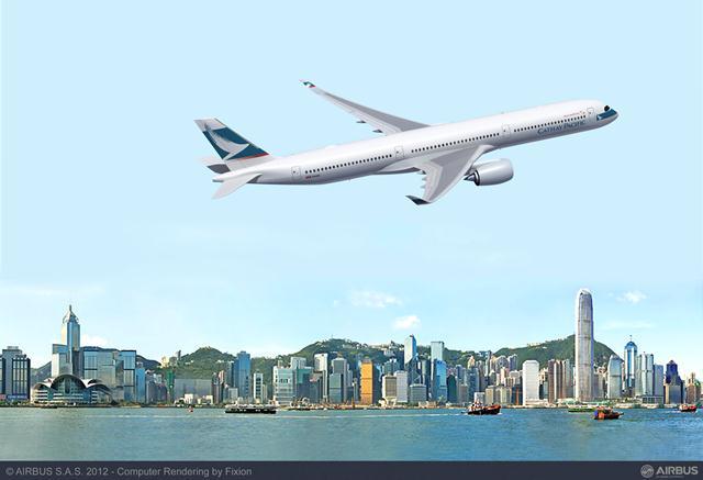 Cathay Pacific selecciona el A350-1000