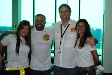 Dra Samar Yorde, Adolfo Acosta Gte de Vta GGmcbo, Angelo Chirico, Gte Gral GGVZLA, María Suarez, Coordinadora de Mercadeo GGVZLA