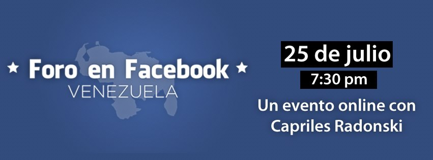 Foro en Facebook