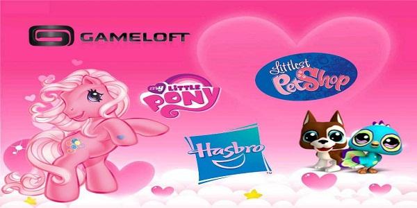 Gameloft y Hasbro llevarán My Little Pony y Littlest Pet Shop