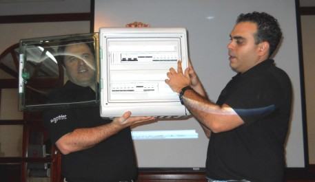 Jose Orive - Jose Angel Surga presentan el Acti91