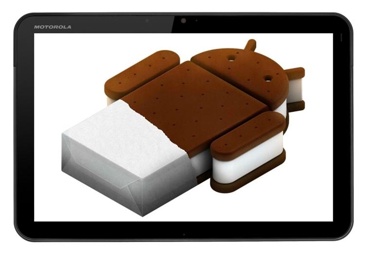 Motorola XOOM - Android 4.0