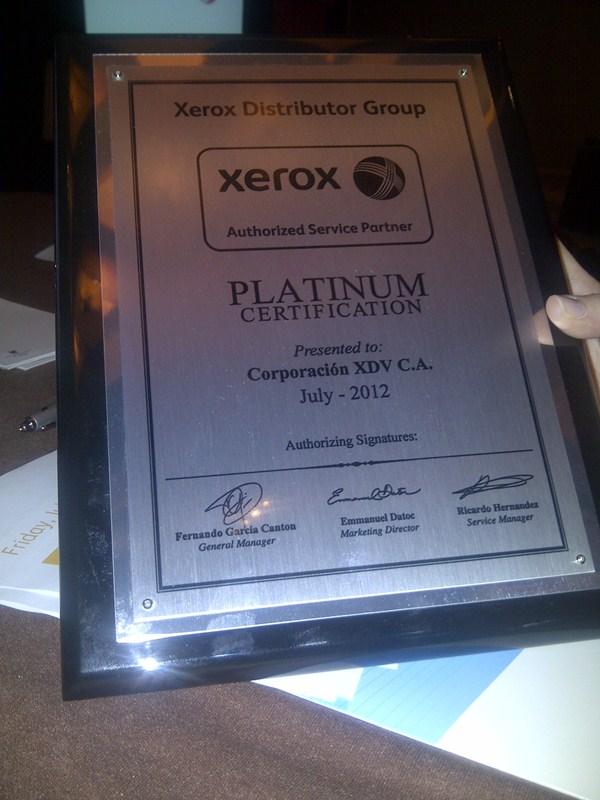 Certificacion Platinium