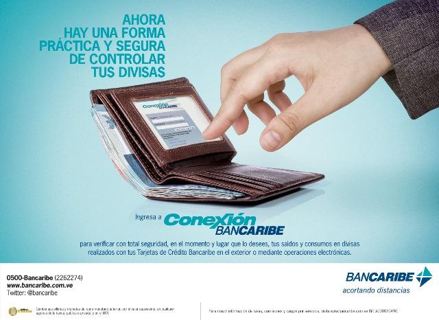 Consumos en divisas - Conexión Bancaribe